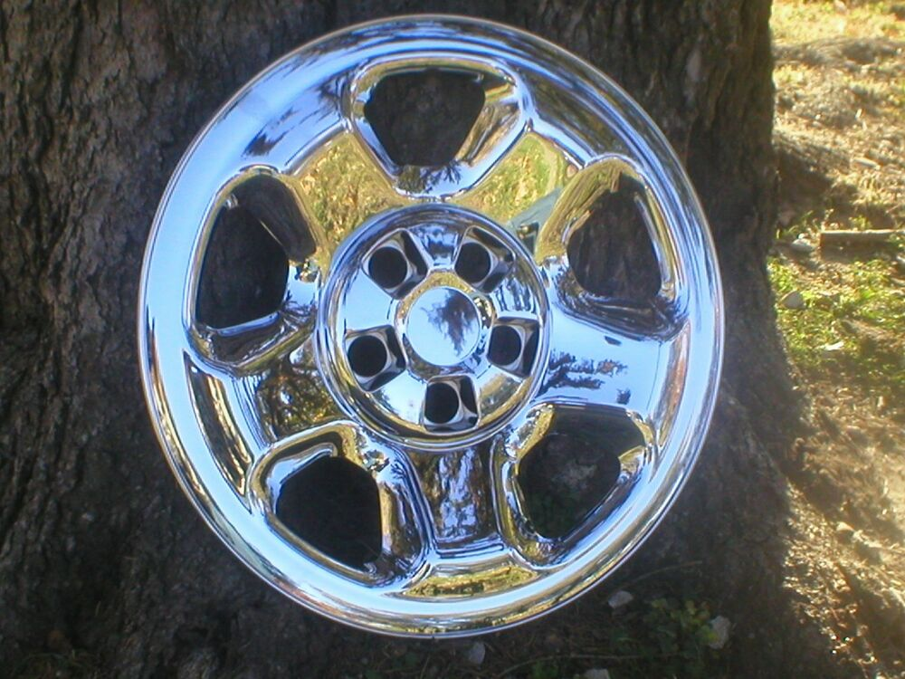 Four Wheeler With Rims: HONDA RIDGELINE CHROME WHEEL SKINS 17 INCH SET OF FOUR