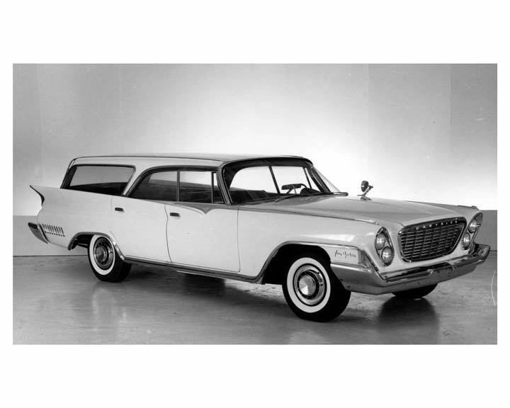 1961 chrysler new yorker station wagon factory photo. Black Bedroom Furniture Sets. Home Design Ideas
