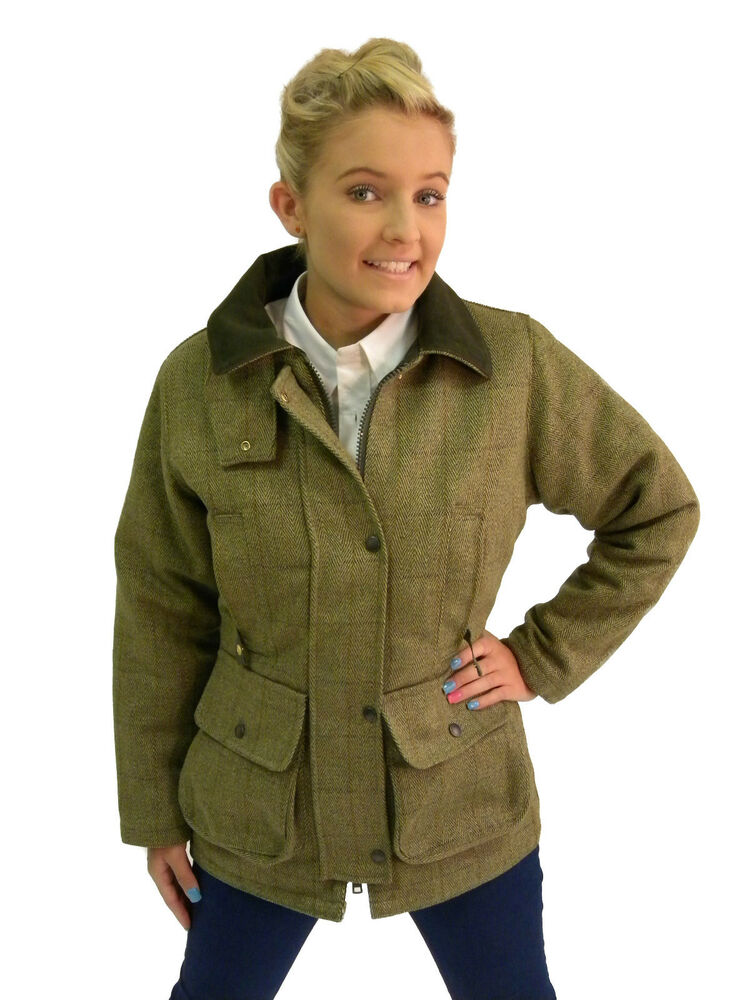 Tweed coat for women