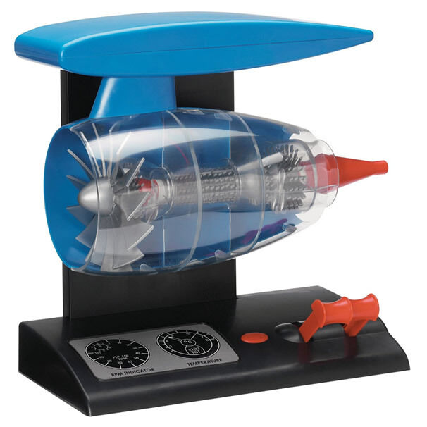 How To Build A Model Jet Engine At Home