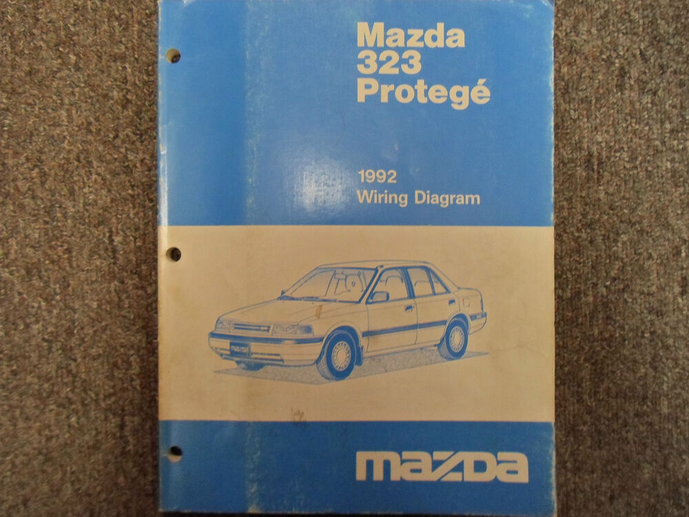1992 Mazda 323 Protege Electrical Wiring Diagram Manual