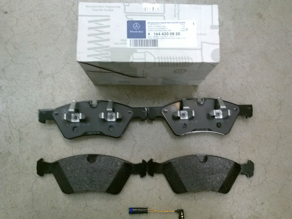 Genuine oem mercedes benz r class v251 front brake pad set for Mercedes benz gl450 brake pads