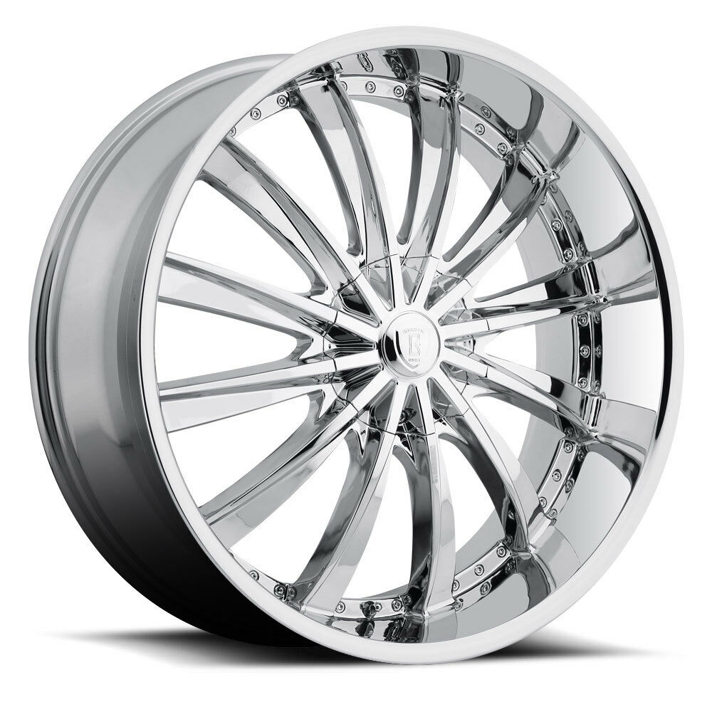 18 x 7 5 inch borghini b19 chrome wheels rims tires fit 5 x 114 3 civic ebay. Black Bedroom Furniture Sets. Home Design Ideas