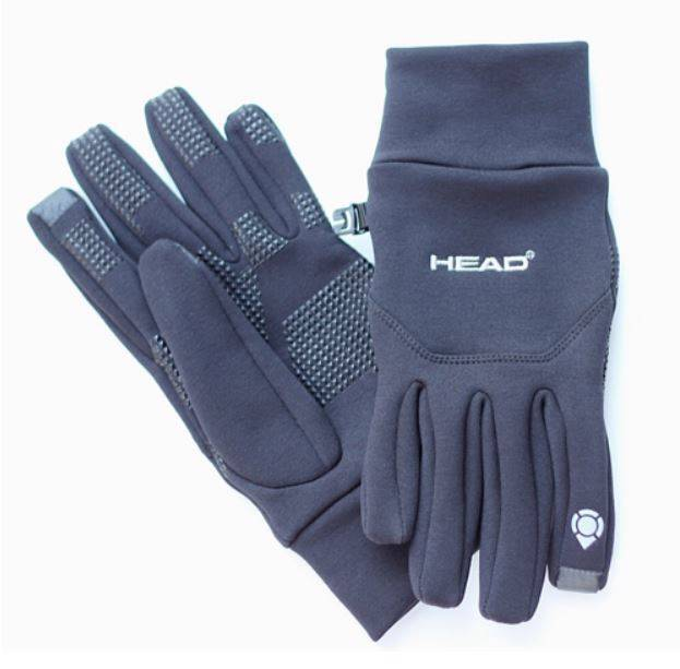 Head Multi Sport Gloves With Sensatec Black Large: NEW HEAD DIGITAL SPORT RUNNING GLOVE ATHLETIC GLOVE WITH