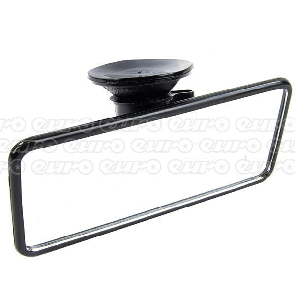 Summit rv30 flat interior mirror rear view suction cup fit driving glass ebay for Interior rear view mirror replacement glass