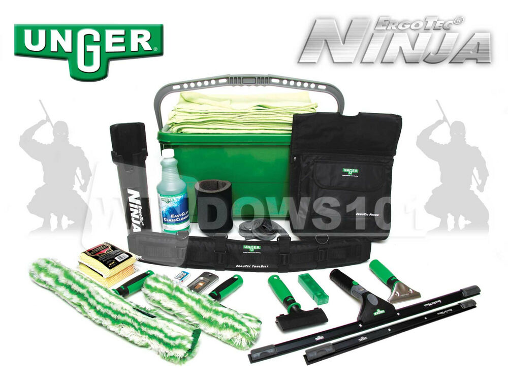 Unger Ninja Super Starter Window Cleaning Amp Washing Kit