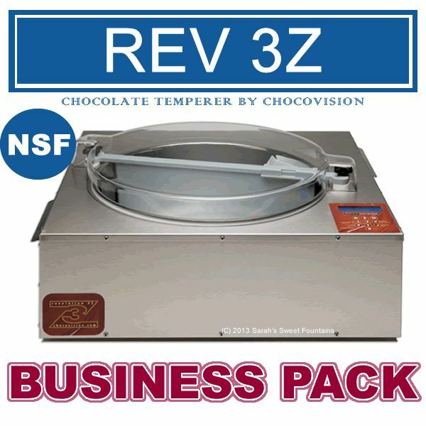 revelation 1 chocolate tempering machine