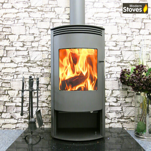 venus curved stove 10kw wood burning multi fuel wood. Black Bedroom Furniture Sets. Home Design Ideas
