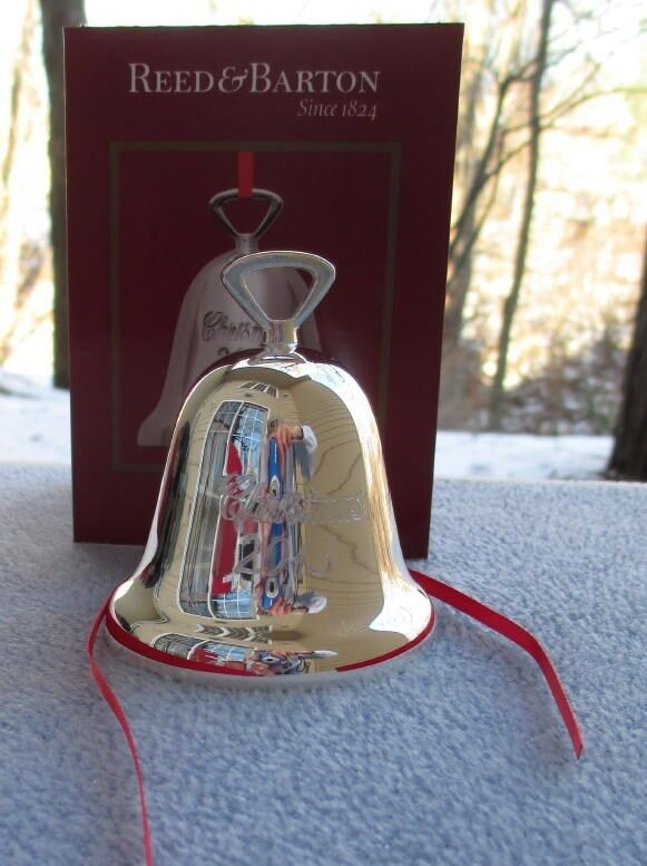 Reed and barton silverplate annual bell christmas