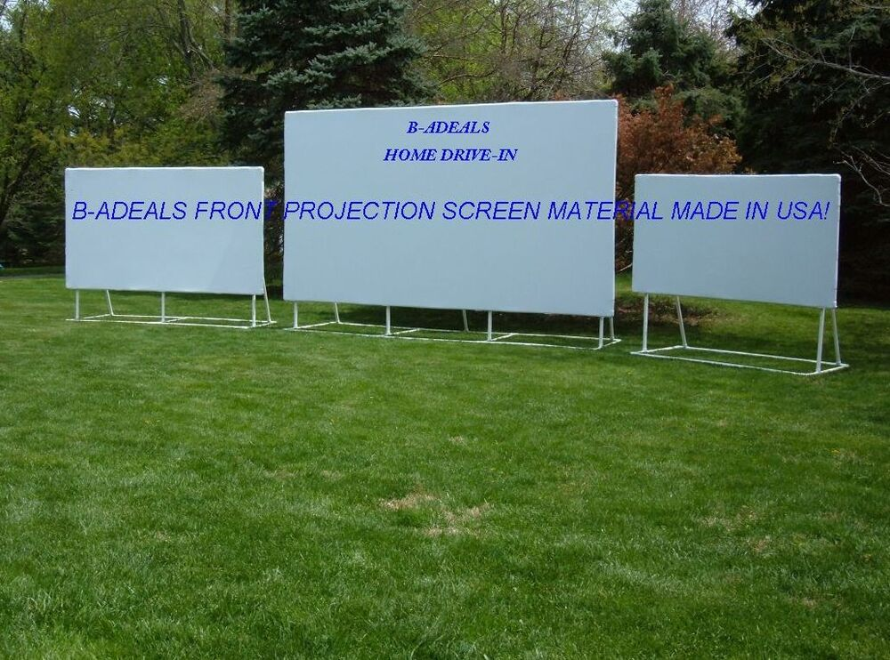 HD PROJECTION PROJECTOR SCREEN MATERIAL DIY FIXED/PORT IN ...