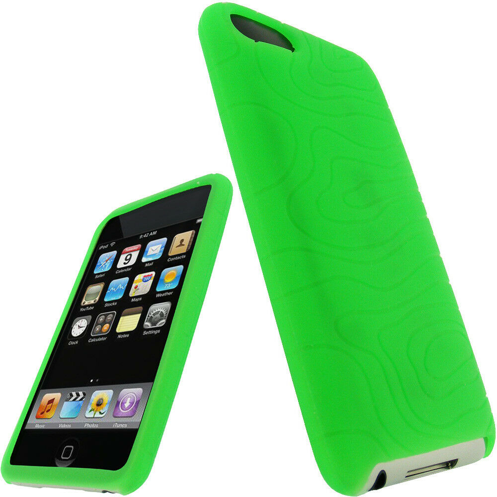 green silicone case for ipod touch 2nd 3rd generation 2g. Black Bedroom Furniture Sets. Home Design Ideas