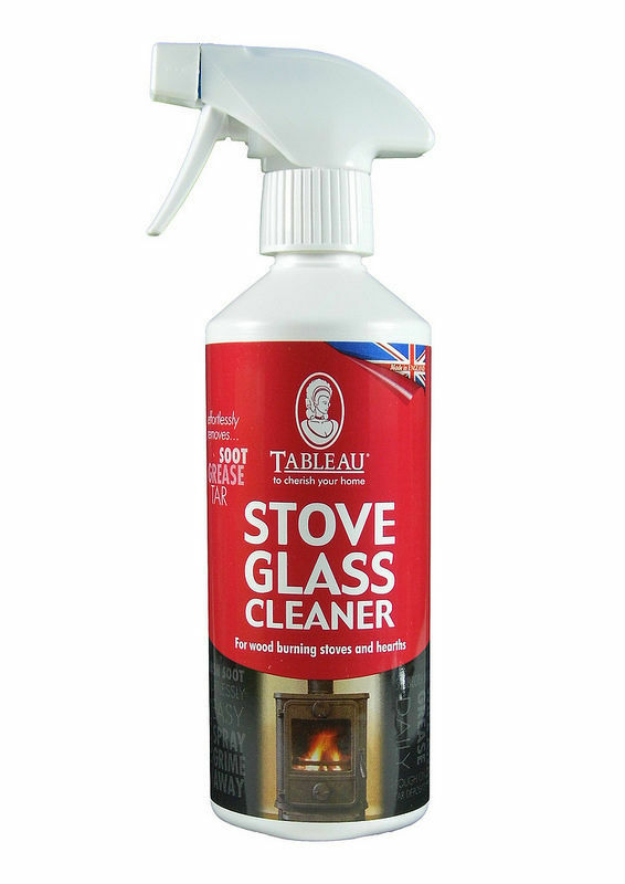 Tableau Stove Glass Cleaner Spray 500ml Suitable For Wood