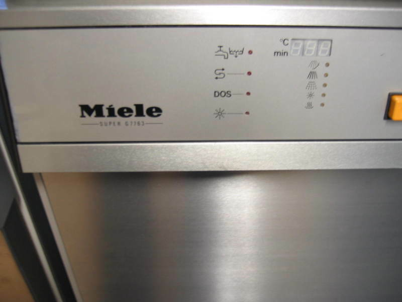 miele sp lmaschine g 7764 gastronomie g7764 5min prog ebay. Black Bedroom Furniture Sets. Home Design Ideas