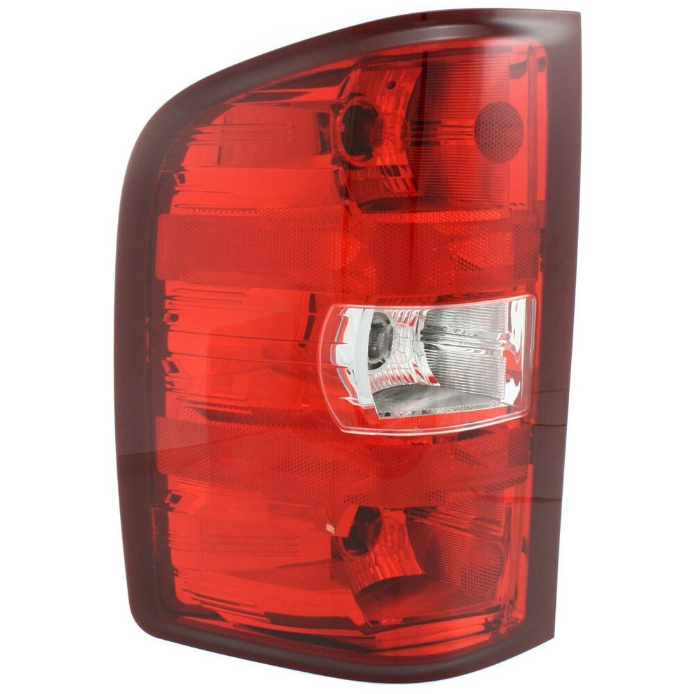 Tail Light For 2007 2013 Chevrolet Silverado 1500 Lt Lh W