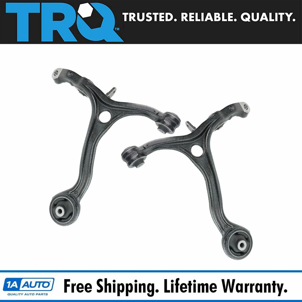 Front Lower Control Arm w/ Bushings Left & Right Pair Set ...