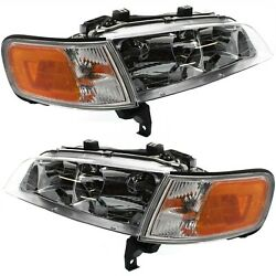 Kyпить Headlight Set For 94 95 96 97 Honda Accord Left and Right With Bulb 2Pc на еВаy.соm