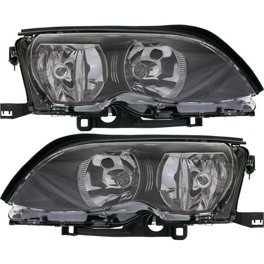 Bmw Xi Price: Headlight Set For 2002-2005 BMW 325i 325xi Driver
