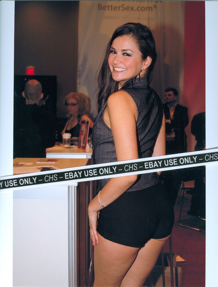Allie Haze Sexy Color Candid 8X10 Photo Hot Adult Film -8693