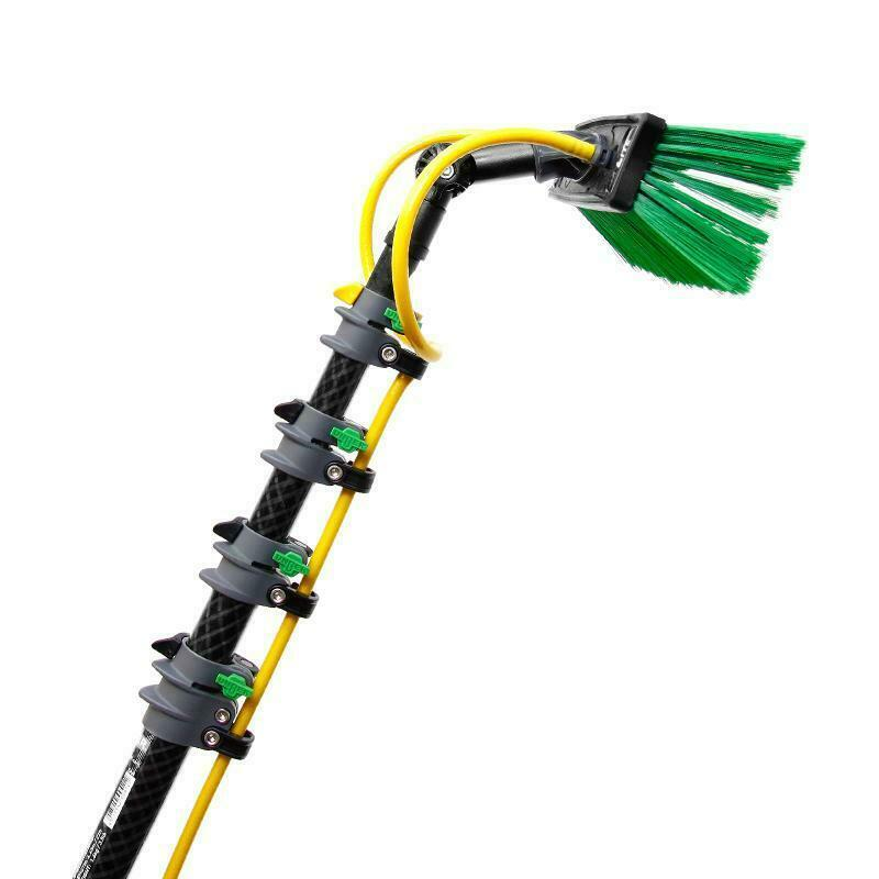 Window Cleaning Pole System: Unger NLite Carbon Fiber Complete Water Fed Pole Kit