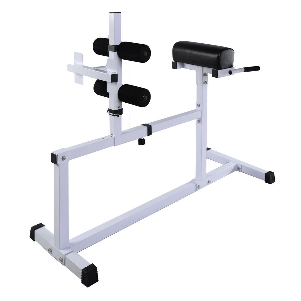 Goplus Fitness Hyper Extension Hyperextension Bench Chair