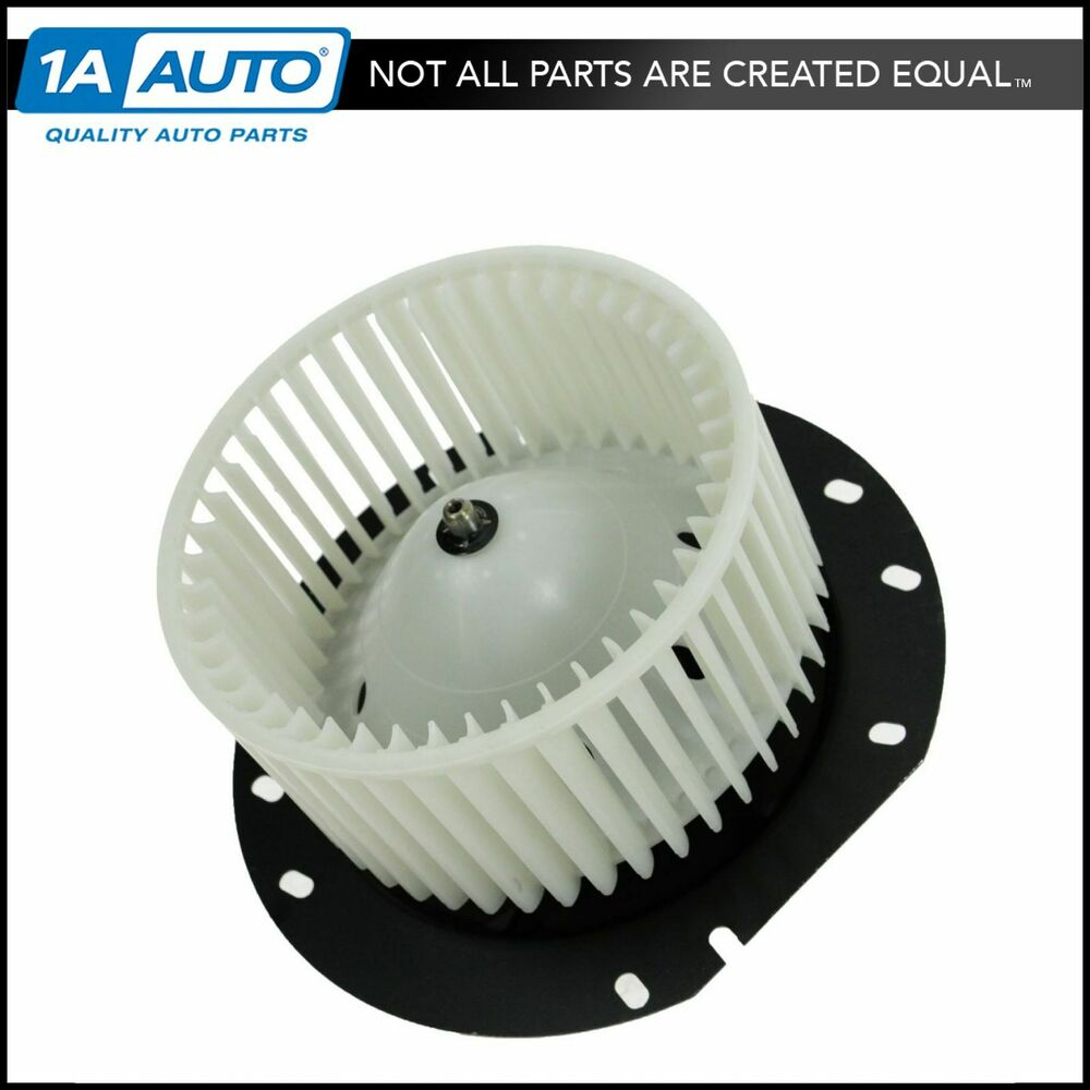 A C Heater Blower Motor W Fan Cage For 97 13 Ford E350