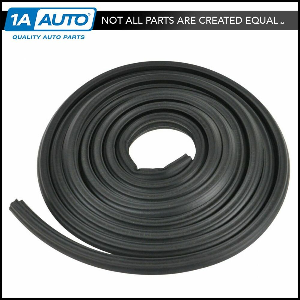 Trunk Seal Weatherstrip Soft Rubber Tk46 16 For Pontiac