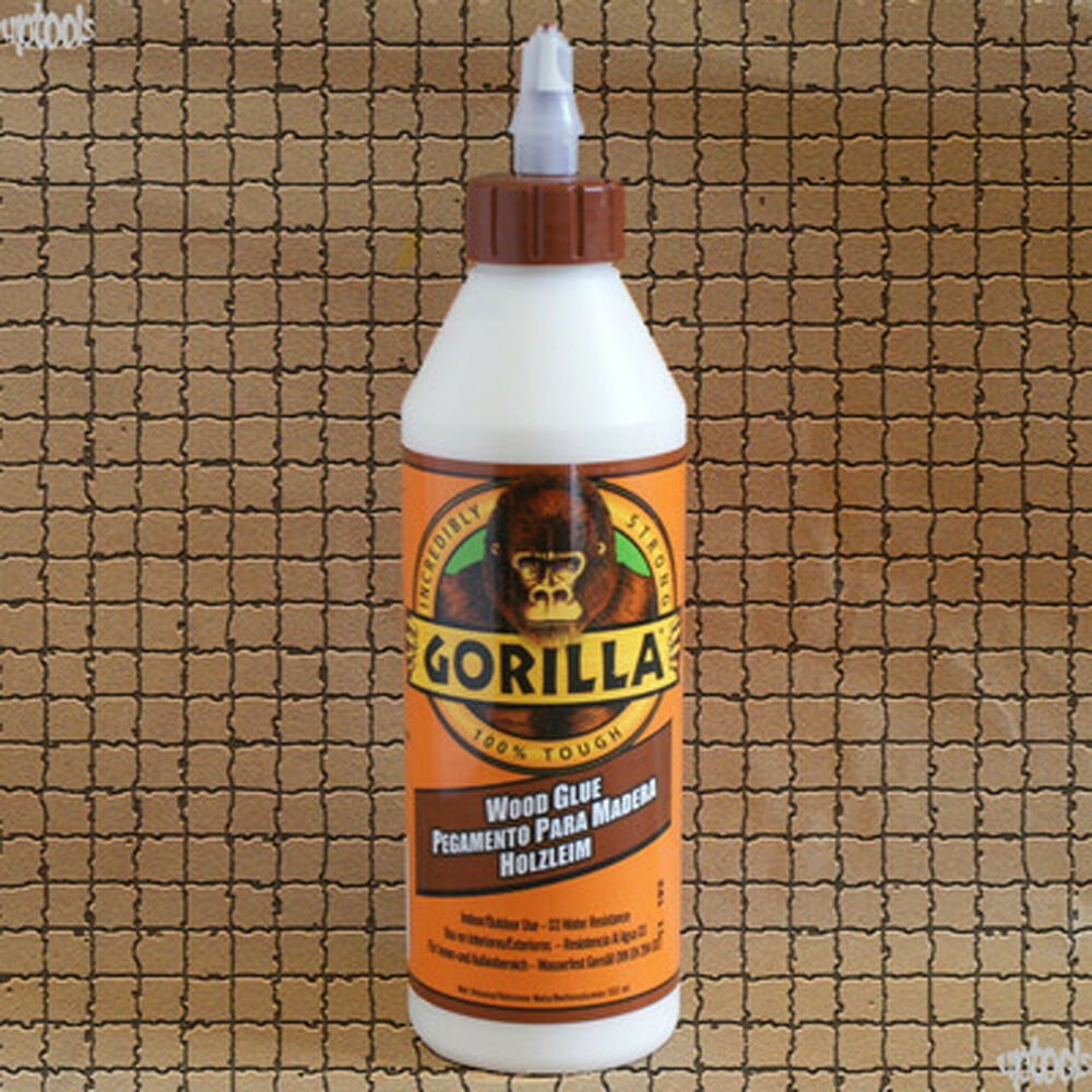 new gorilla glue wood glue 532ml incredibly strong easy to use ebay. Black Bedroom Furniture Sets. Home Design Ideas