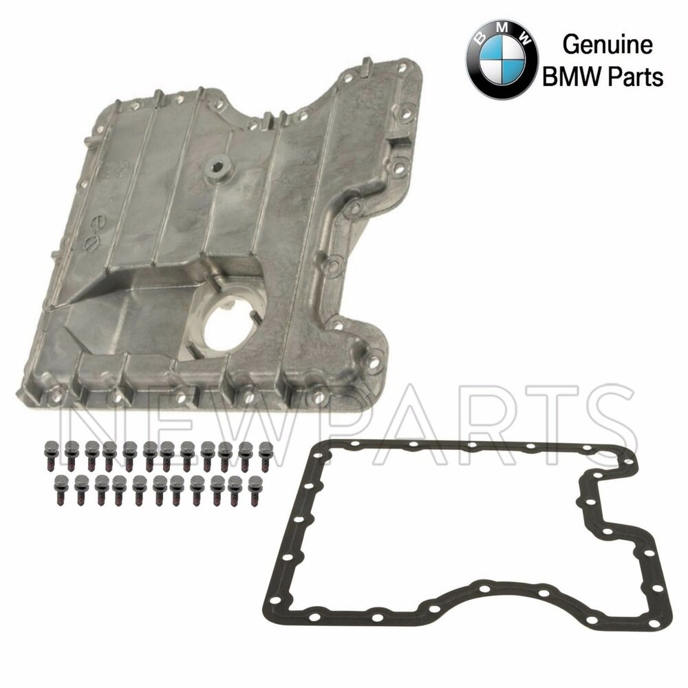 Bmw e53 x5 04 06 genuine lower engine oil pan kit for Bmw x5 motor oil