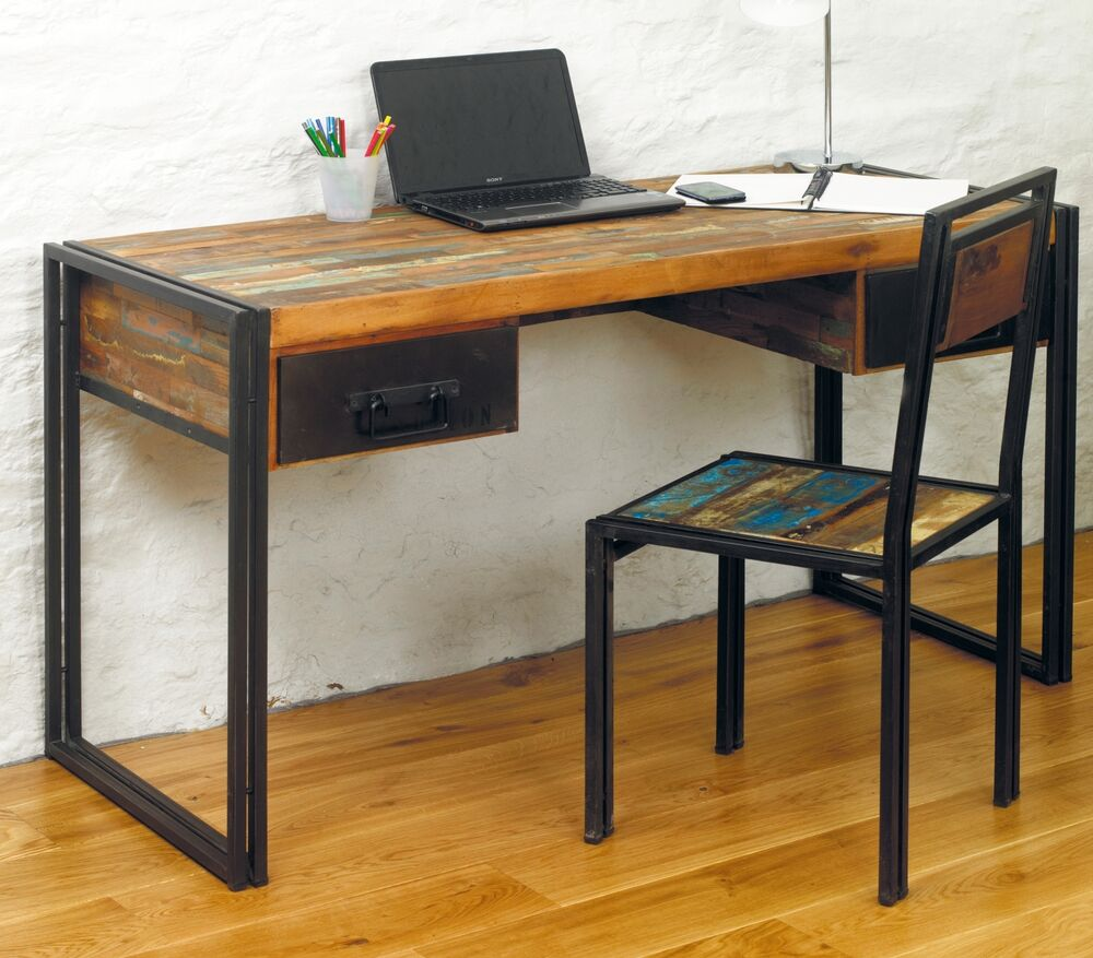 wood office laptop computer desk bedroom dressing table ebay