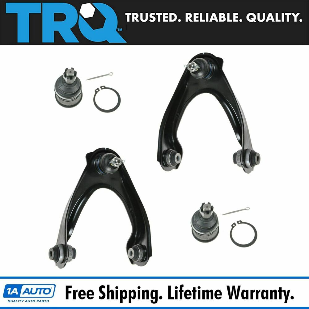 Front Upper Control Arms & Lower Ball Joints Set of 4 for Acura EL Honda Civic | eBay