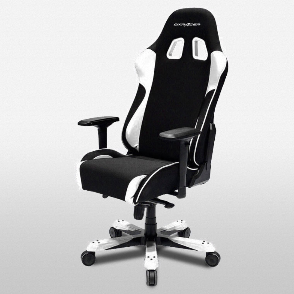 dxracer office chairs oh ea01 nr gaming chair fnatic racing seats computer desk 798993476819 ebay. Black Bedroom Furniture Sets. Home Design Ideas