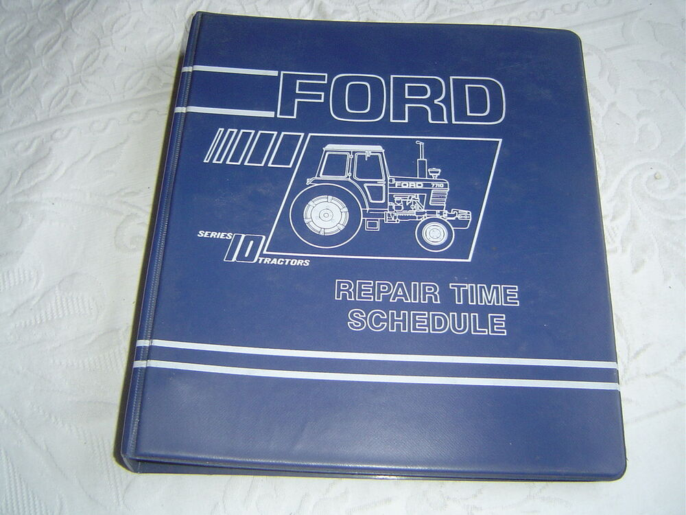 Ford 2310 2610 4110 5610 6710 7610 Tractor Service Repair