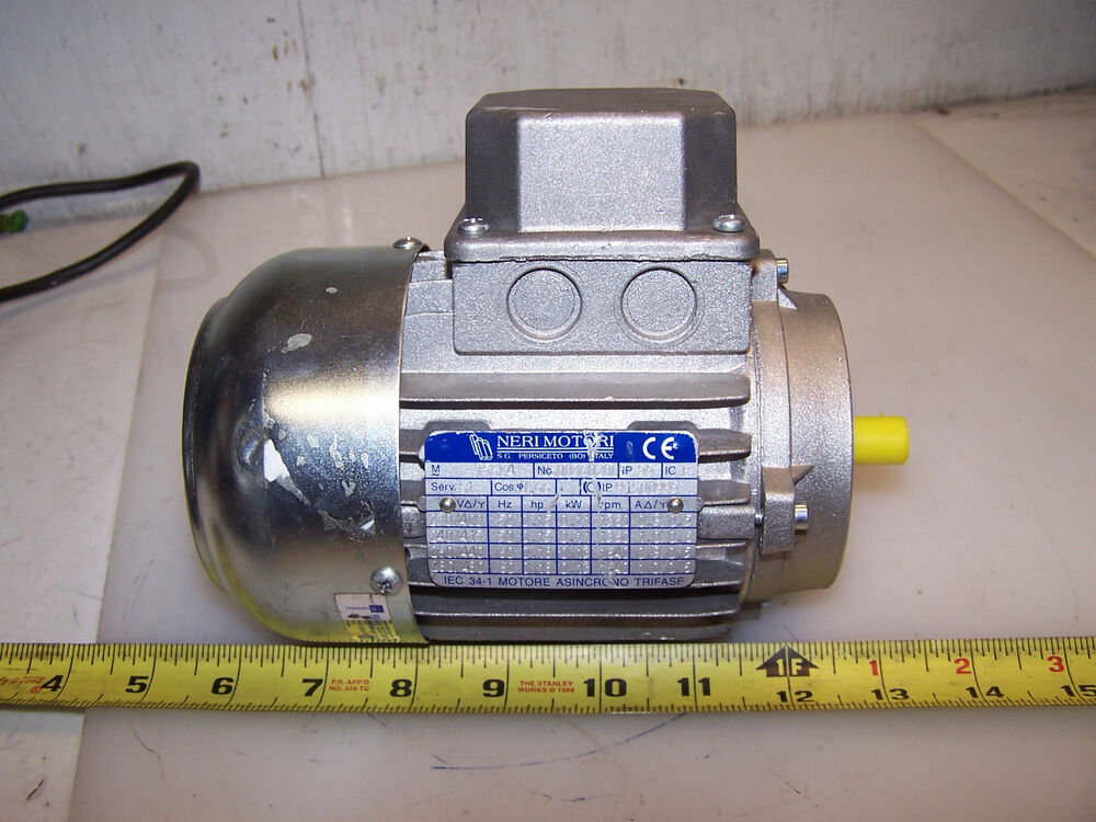new neri 18 hp ac electric motor model t5604 230 460