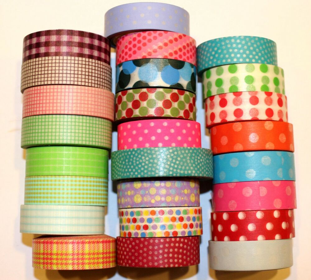 Washi tape designer 15mmx10m roll decorative sticky paper for Adhesive decoration
