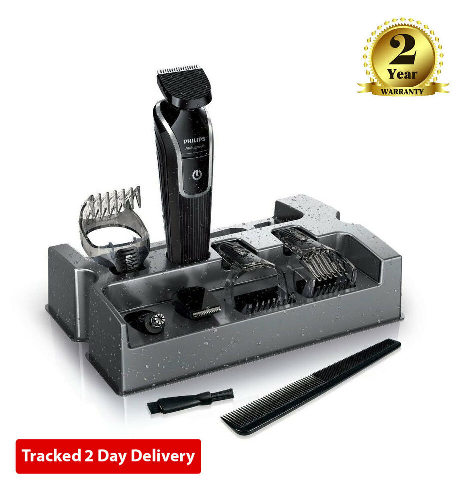 philips qg3342 23 men grooming kit hair beard moustache nose clipper trimmer set ebay. Black Bedroom Furniture Sets. Home Design Ideas