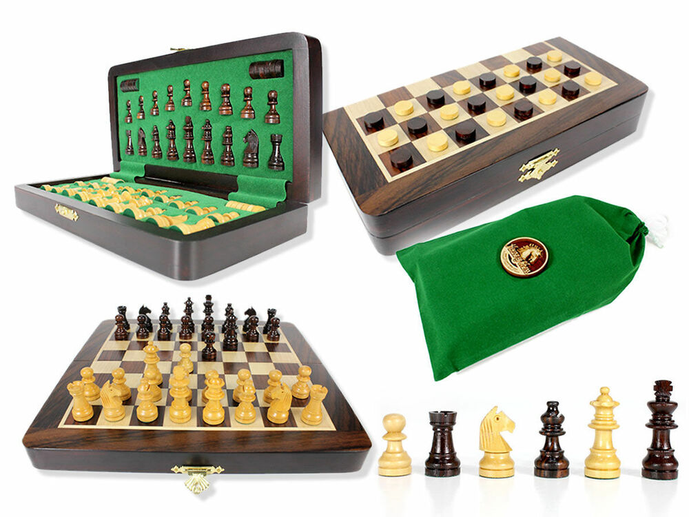 Travel Chess Set Magnetic Folding 9 2 Extra Queens