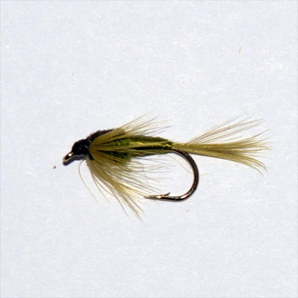 Pond olive nymph trout grayling wet fly fishing flies dragonflies ebay Best lures for pond fishing