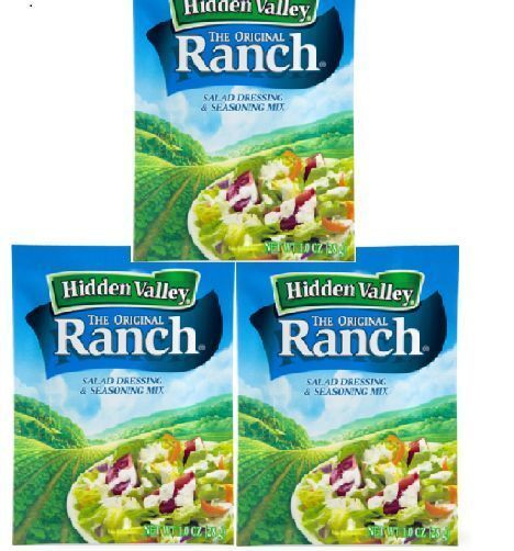 How much ranch dressing is in a packet