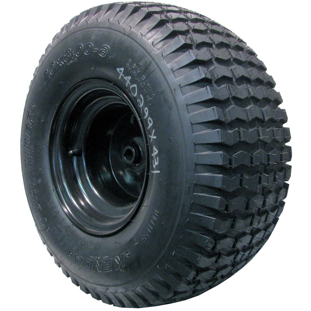 20x8 00 8 8 00 8 Lawn Mower Tractor Tire Wheel Assembly