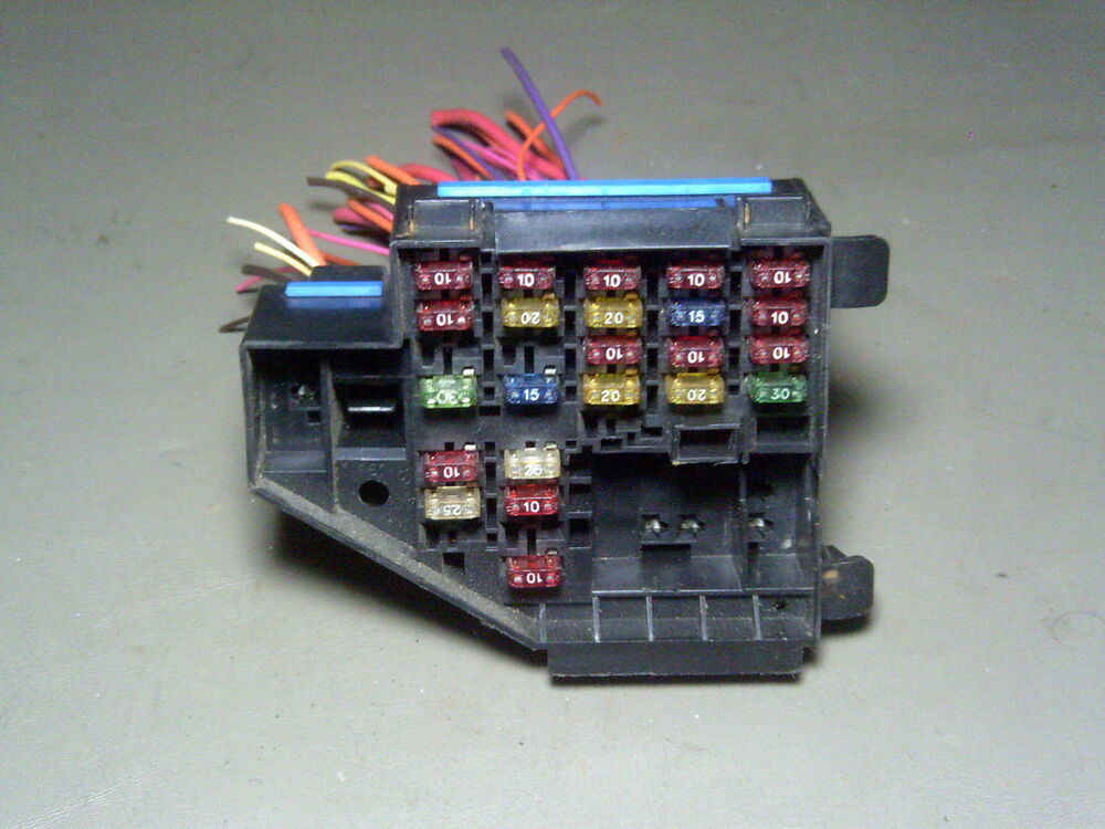 1986 chevy truck wiring diagrams automotive 96 1996 buick skylark under dash fuse box fusebox pigtail ... #10