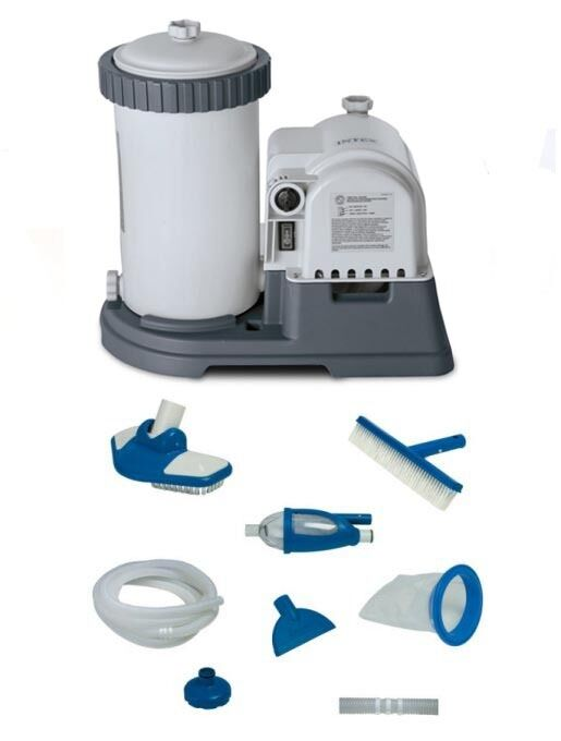 Intex 2500 gph gcfi pool filter pump with timer 633t Above ground swimming pool pump timer