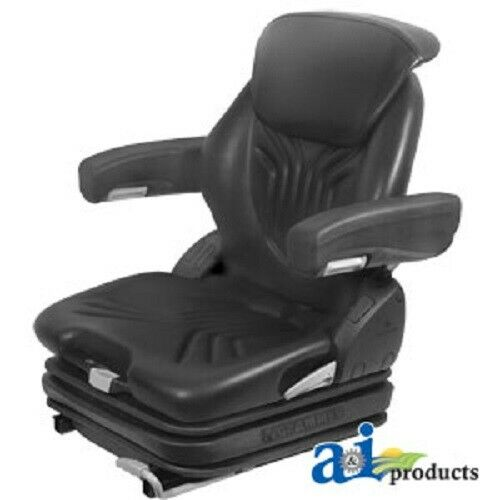 Tractor Seat Grammer Ds44 Cushions : Msg gblv assy grammer seat assembly black vinyl ebay
