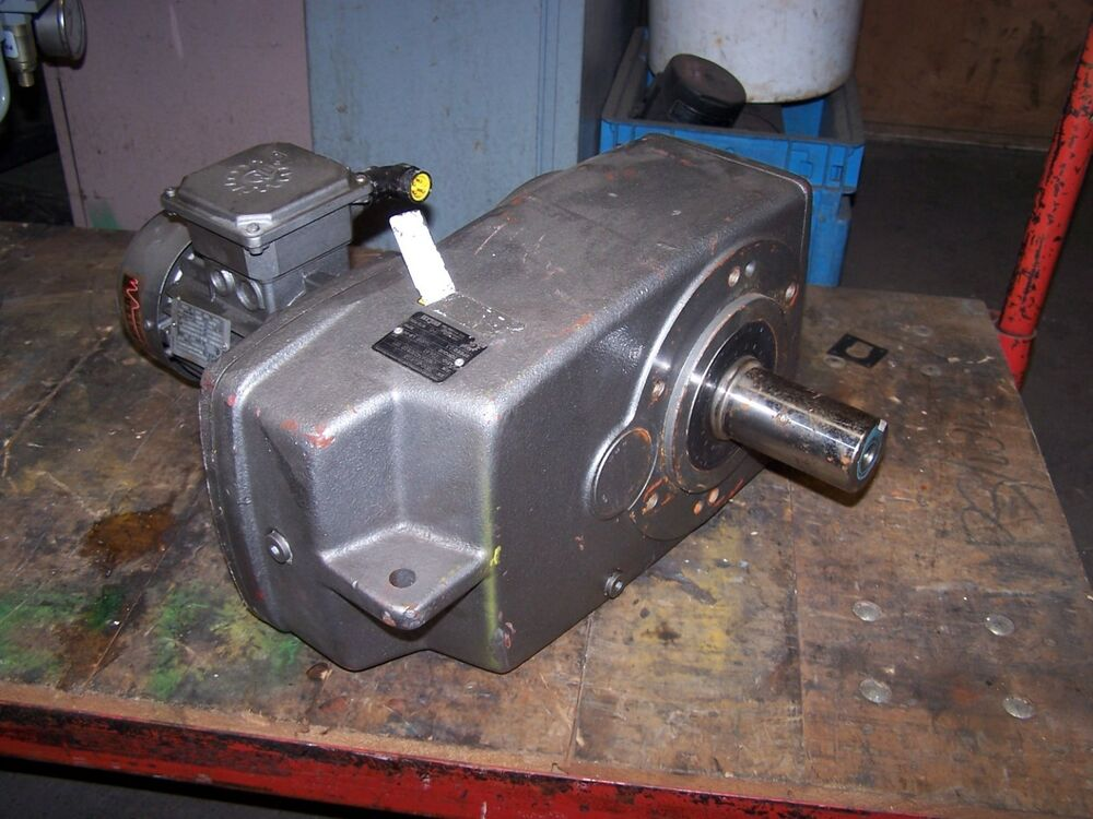 Nord 3382vz 63l 4cus gear speed reducer w 1 4 hp motor for 1 4 hp gear reduction motor