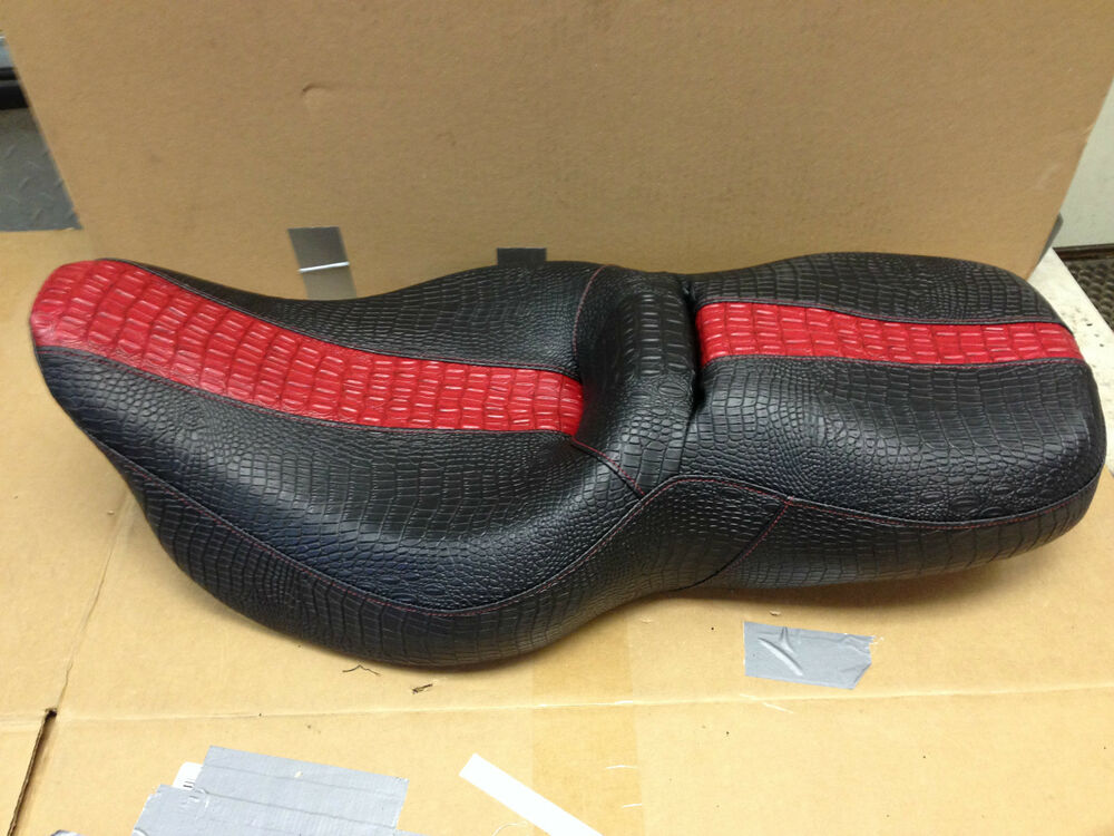 Harley Davidson Cover: 2008 09 Harley Davidson Road Glide Replacement Seat Cover