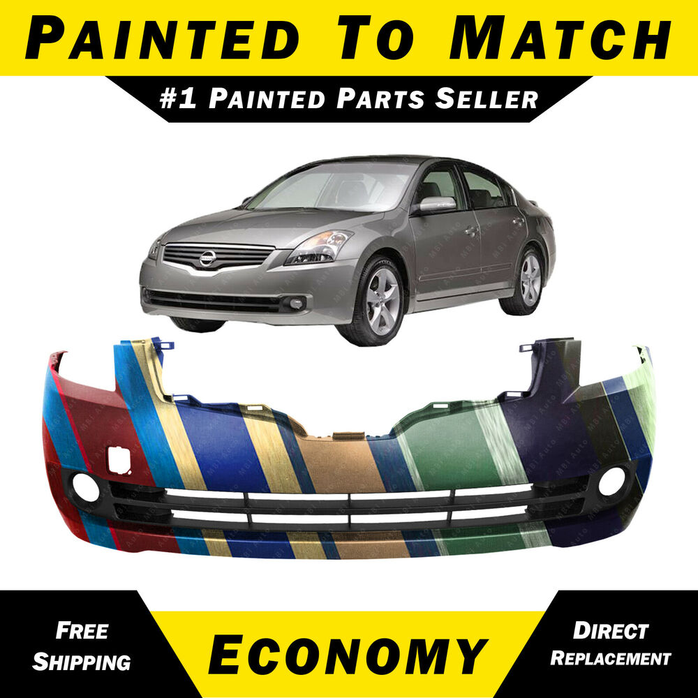 NEW Painted To Match Front Bumper Cover For 2007 2008