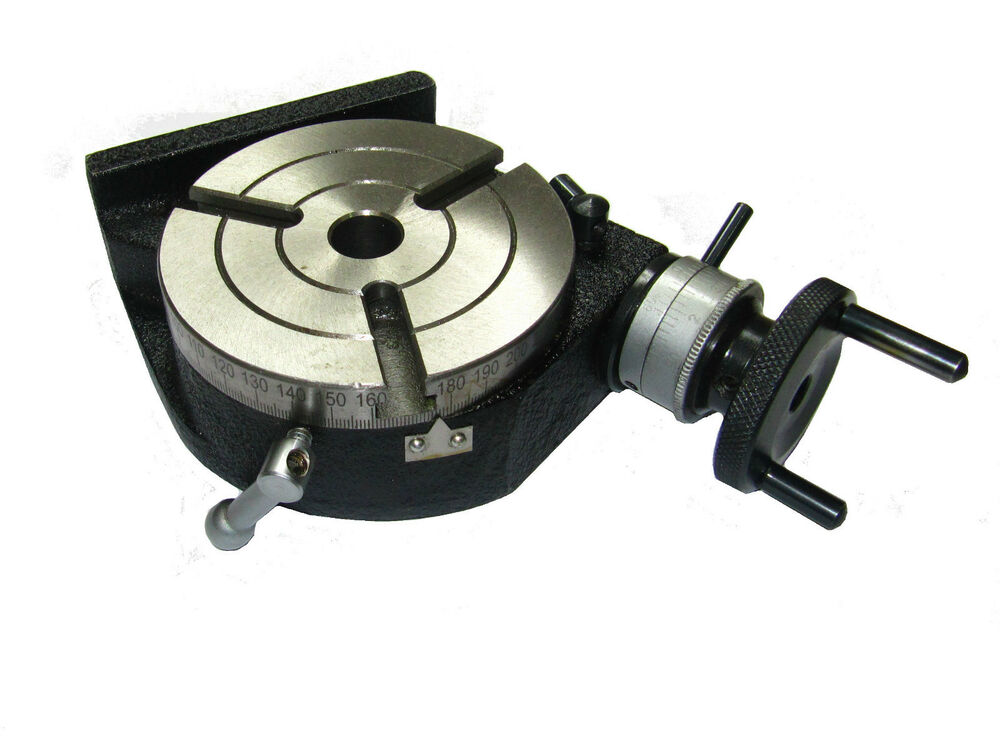 Rdgtools New 100mm 4 Quot Rotary Table 3 Slot Engineering