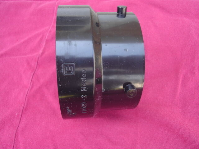 Rv Trailer Sewer Termination Adapter Connection 3 Quot Female