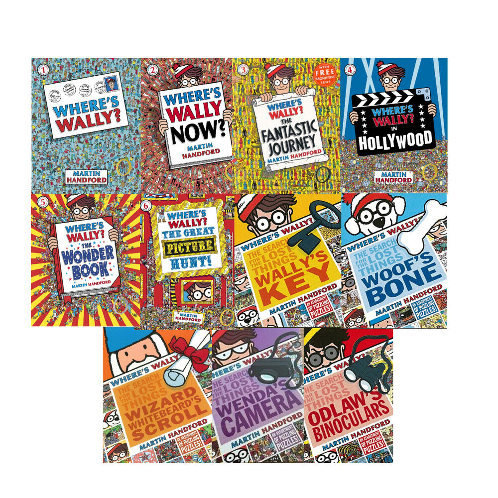 Where's Waldo Books for Kids- Lot of 4 Mixed-Look and Find- Fun Books for Kids