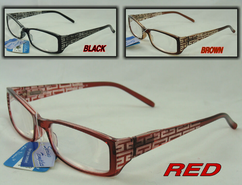 r118sh laser cut strong reading glasses magnifying