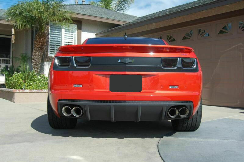Stainless Dual Exhaust Tips 2 5 4 0 Chevrolet Chevy Camaro